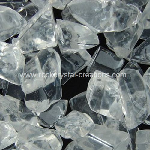 Rock crystal tumbled beads aloadofball Image collections